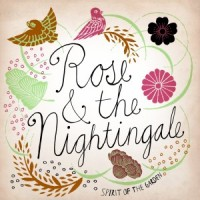 Rose and the Nightingale Spirit of the Garden