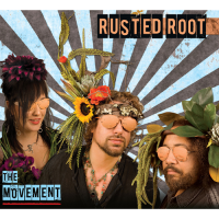 "Rusted Root ""The Movement"" Shanachie Records"