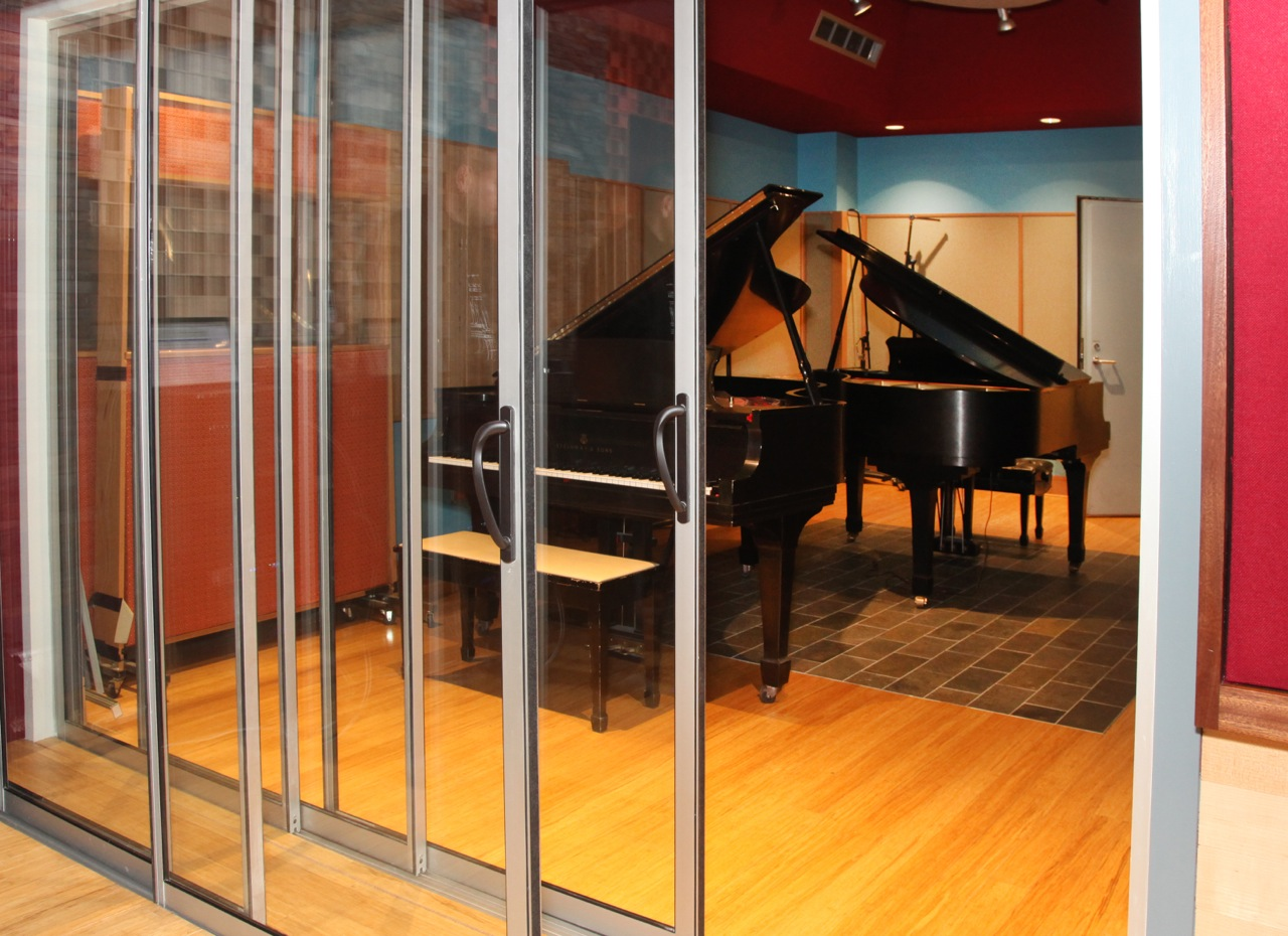 Charming Our Sliding Glass Recording Studio Doors, Installed At Allyworld Studio, In  Tacoma Park. Providing An Amazing STC Of 63! The Allyworld Studio Venue Was  ...