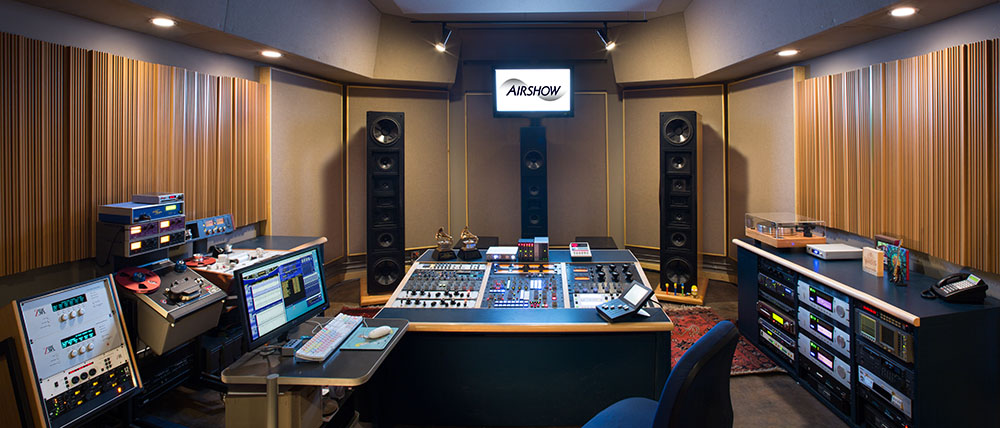 The Sam Berkow-designed control room is equipped for stereo and surround mastering, including lock-to-picture. (Tim Murphy/FotoImagery)