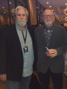 Dave Glasser and Sam Berkow at TEC Awards