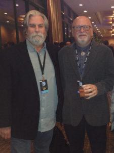 Dave Glasser and Sam Berkow at TEC Awards