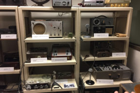 Tape recorders at NAVCC