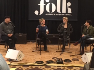 Folk Alliance 2020 engineer panel